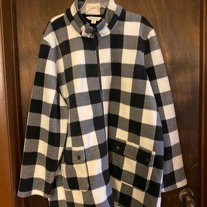Buffalo Check Backcountry Fleece Coat